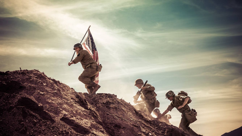 La batalla en la que los alemanes y los americanos lucharon juntos en la IIGM