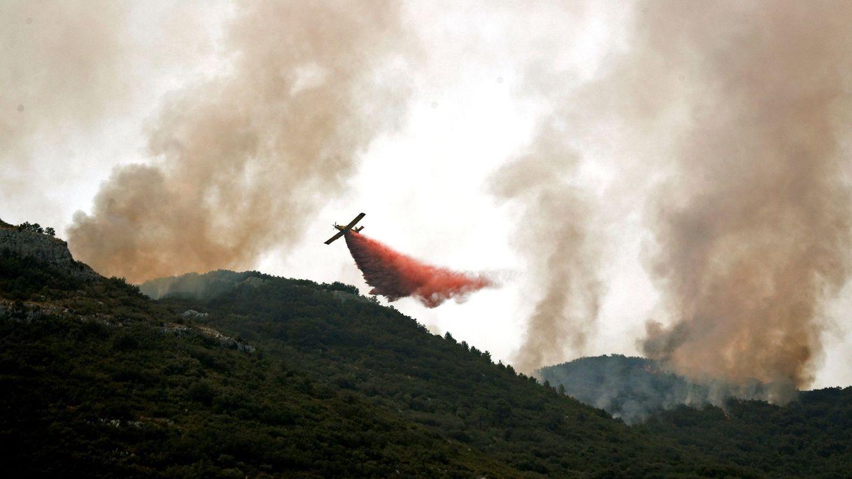 El incendio de Llutxent está perimetrado: los afectados podrían regresar a sus casas hoy
