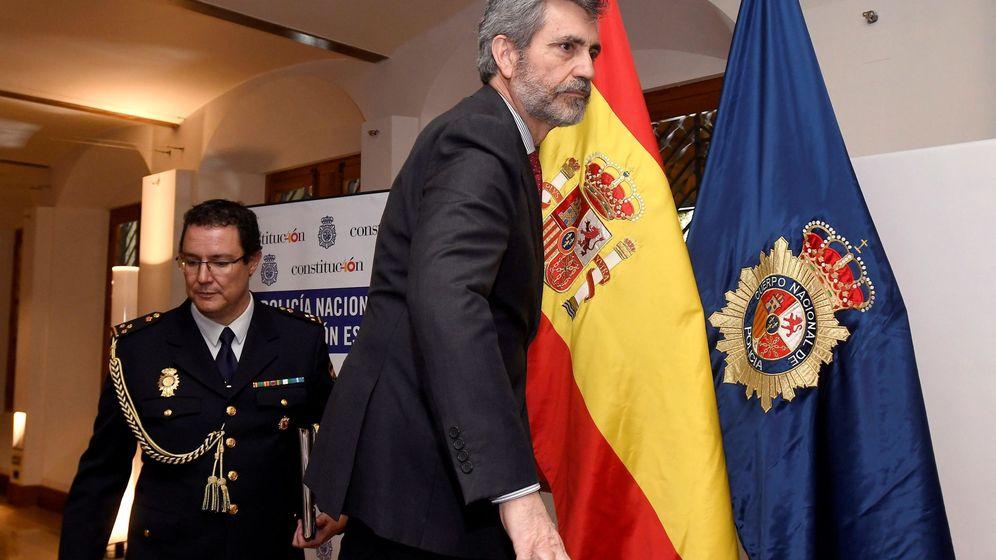 Foto: El presidente del CGPJ y del Tribunal Supremo, Carlos Lesmes. (EFE)