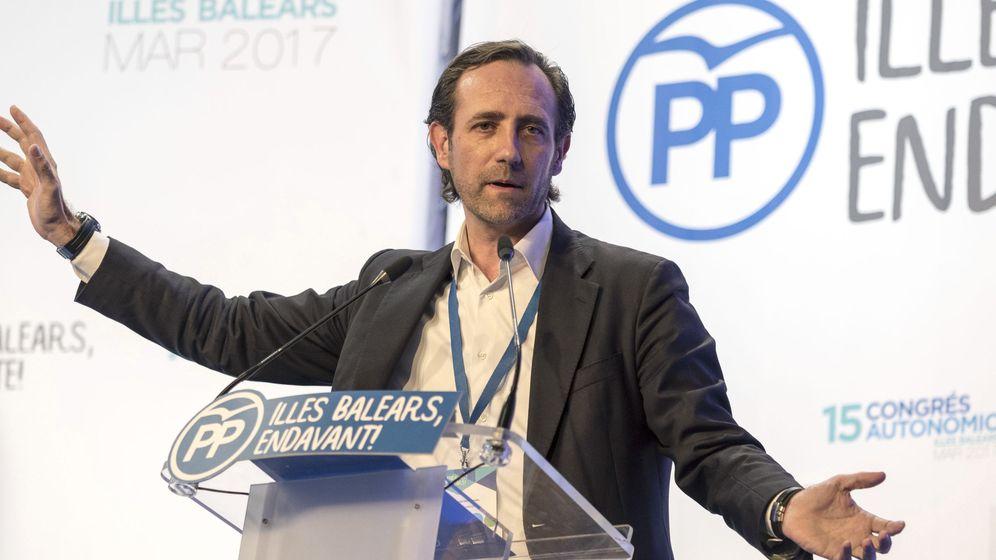 Foto: Fotografía de archivo del expresidente balear José Ramón Bauzá. (EFE)