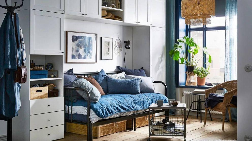 Haz que tu dormitorio parezca más grande con estas compras en Ikea