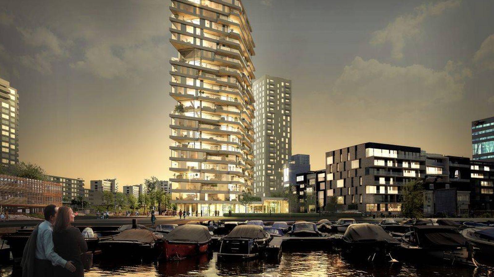 Foto: HAUT, el edificio de madera que se comenzará a construir en Amsterdam el año que viene (Foto: Team V Architecture)