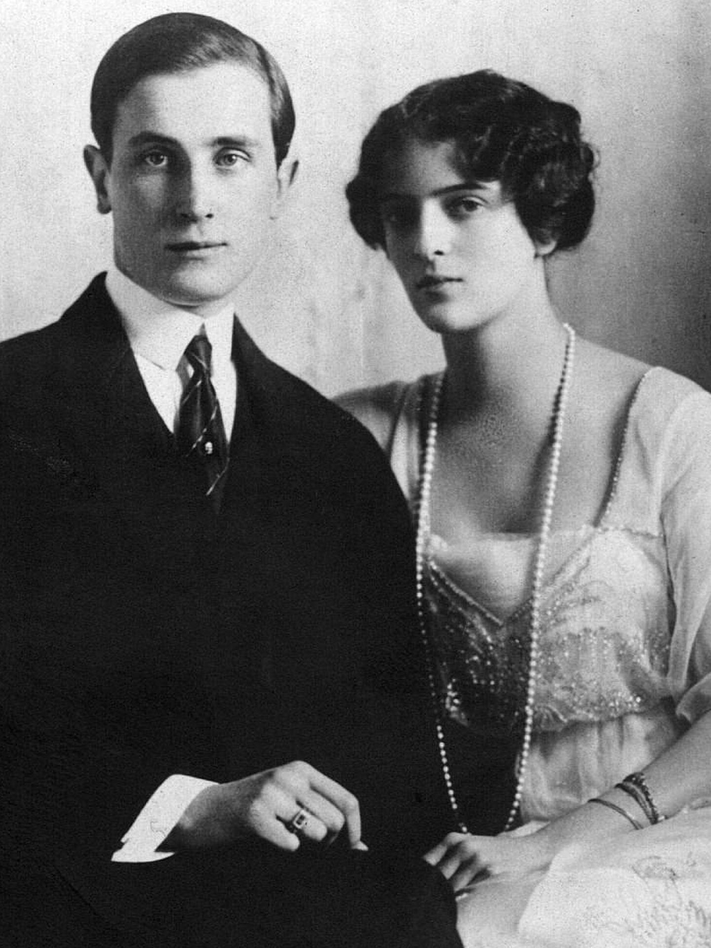 Félix Yusúpov e Irina Aleksándrovna.