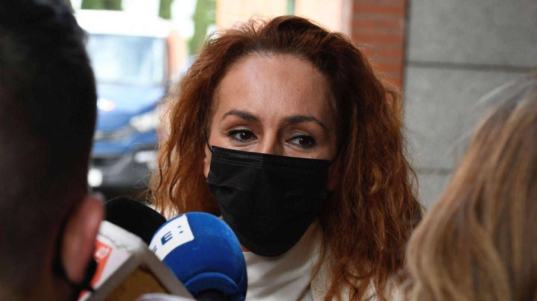 Rocío Carrasco, en su último juicio con Antonio David, el pasado mes de abril. (EFE)