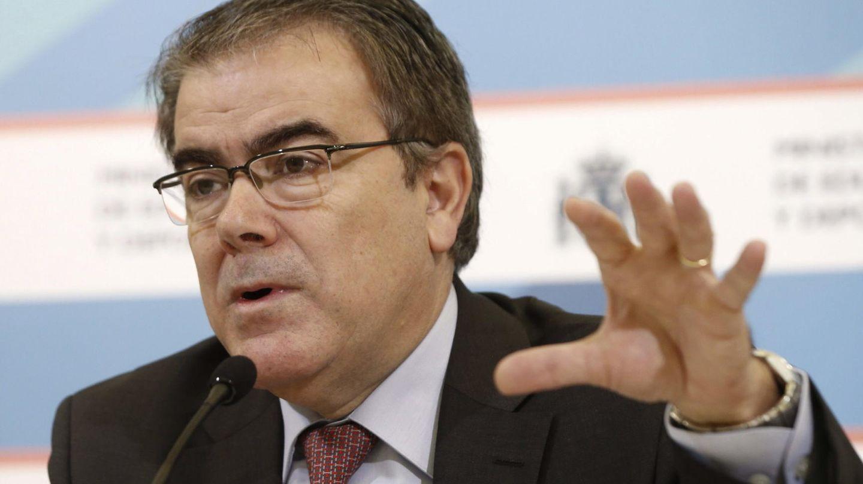 Federico Morán, durante la presentación del informe. (Efe)