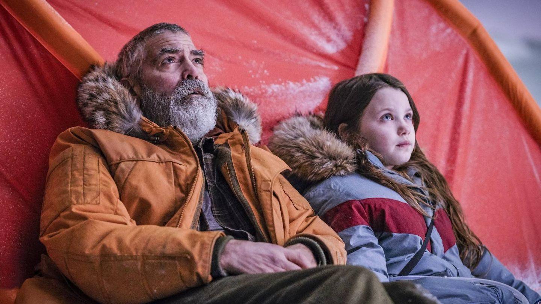 Un George Clooney barbudo protagoniza y dirige este drama de ciencia ficción. (Netflix)