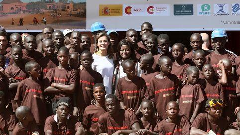 Letizia continúa su viaje por Senegal