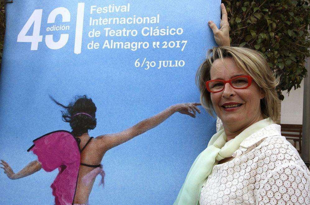 Foto:  La directora del Festival Internacional de Teatro Clásico de Almagro, Natalia Menéndez (Efe)