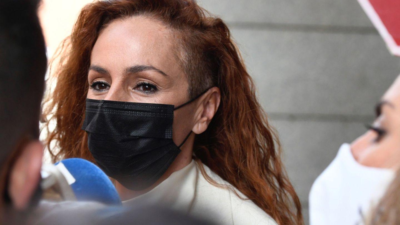 Rocío Carrasco, el pasado 30 de abril tras declarar en Alcobendas. (EFE)