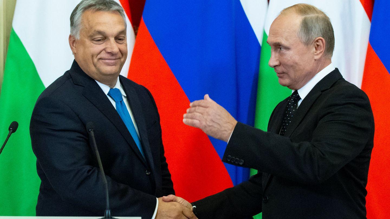 Orbán ha visitado a Putin en Moscú en la víspera del encuentro con sus socios de la UE. (Reuters)