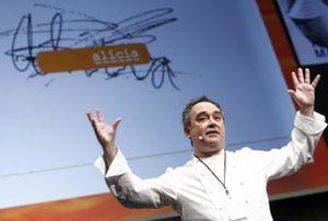 El cocinero Ferrán Adriá, candidato al Premio Príncipe de las Artes