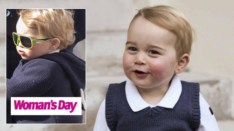 El paseo del príncipe George  antes de convertirse en hermano mayor