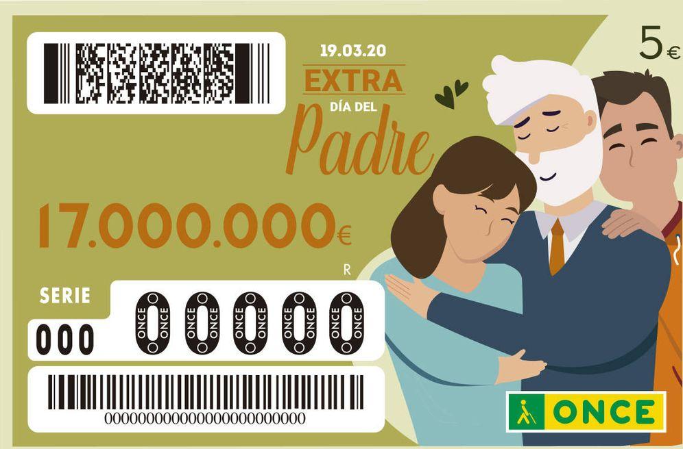Foto: La ONCE recupera sus sorteos, con el Extra del Día del Padre entre ellos (ONCE)