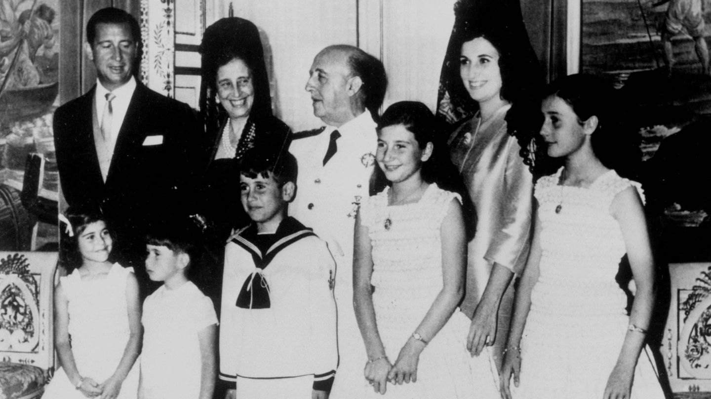 La familia Franco, en una imagen de archivo. (Cordon Press)