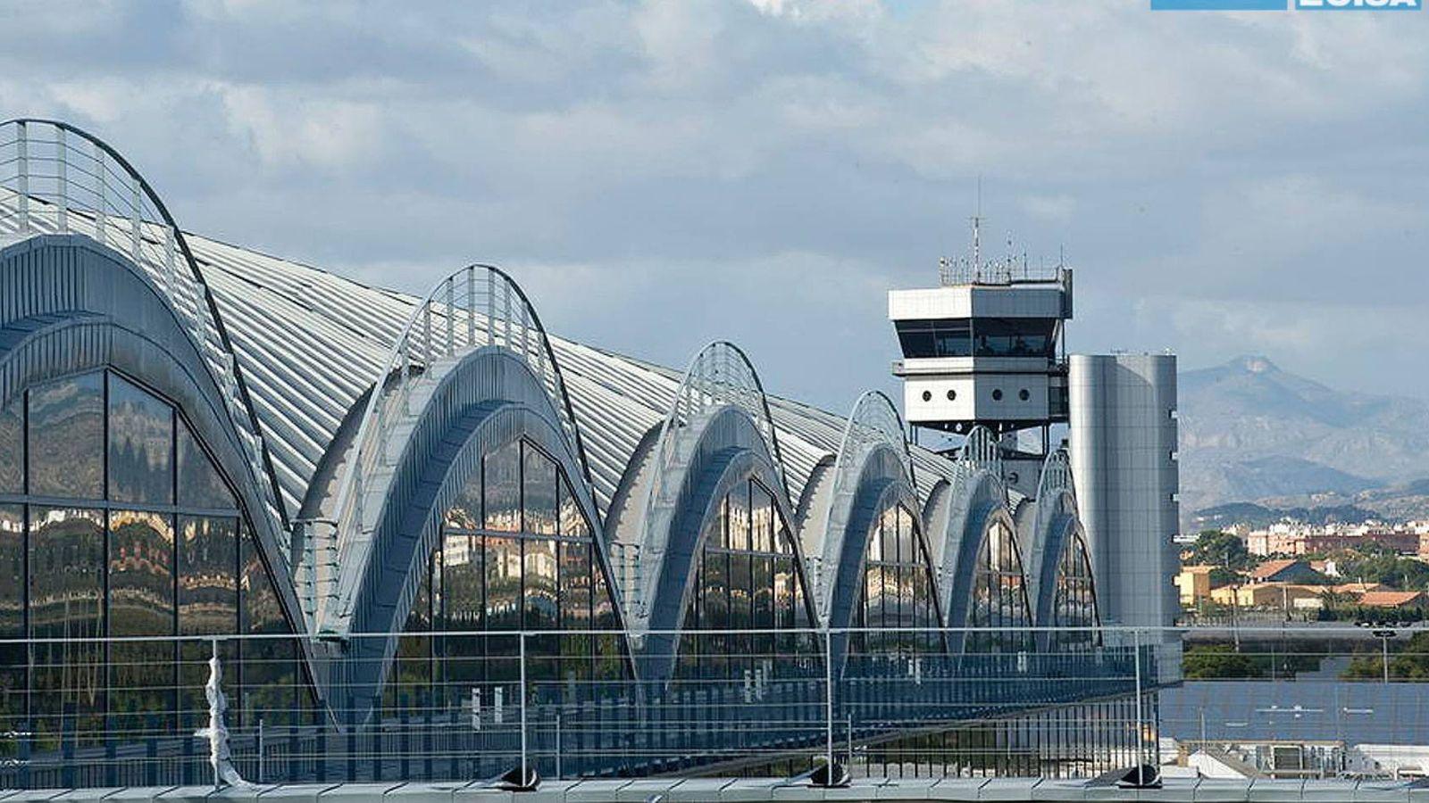 Foto: Ampliación del aeropuerto de l'Altet, en Alicante, uno de los proyectos ejecutados por Ecisa.