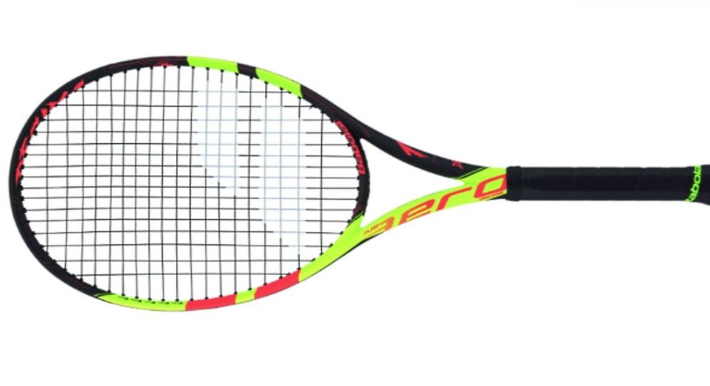 Foto: Esta es la nueva raqueta de Rafa Nadal. (Babolat)