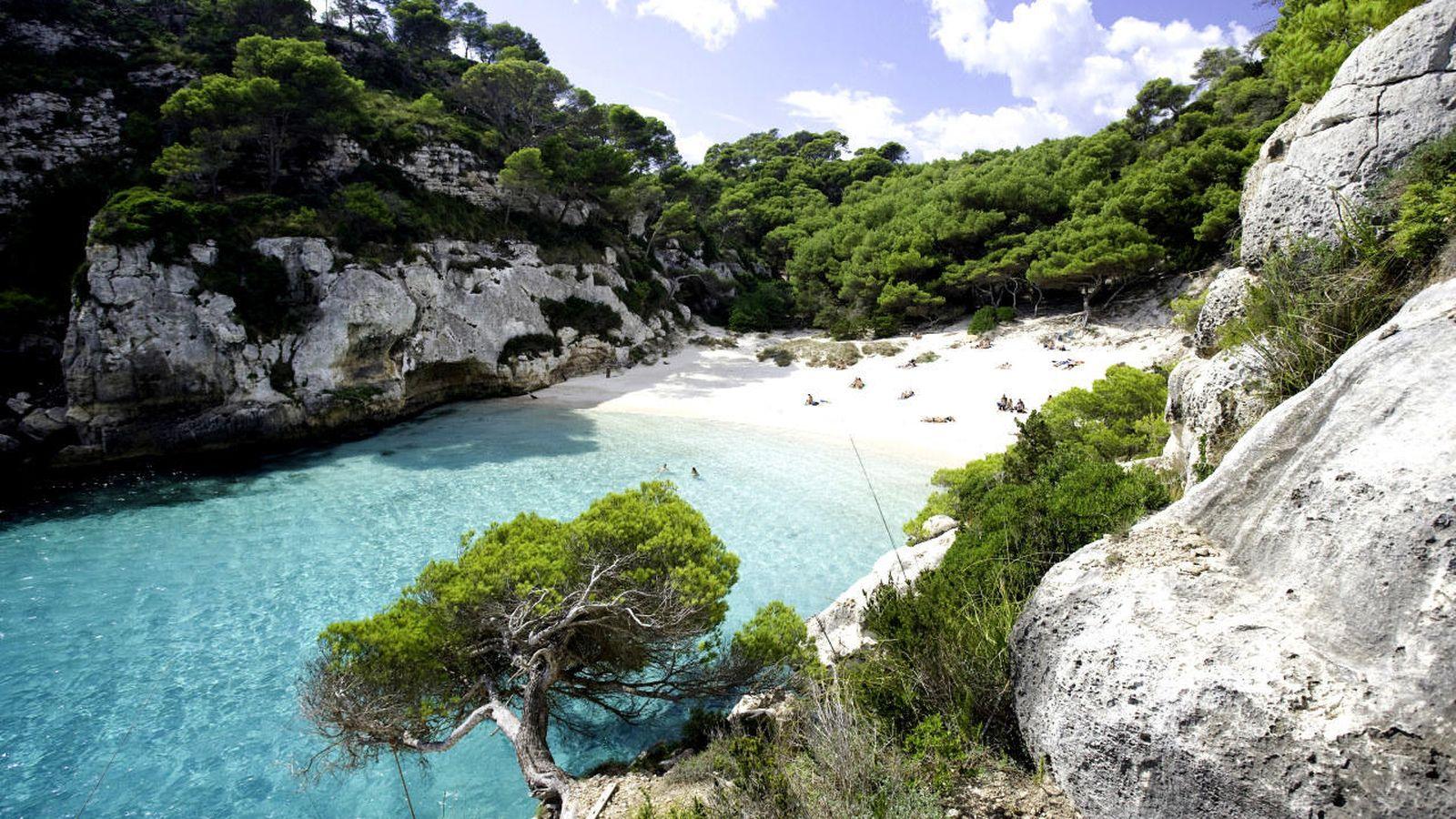 Foto: El TS impidió que el PP limitara la Ley de Costas en Formentera (en la foto, una cala en la cercana Menorca).