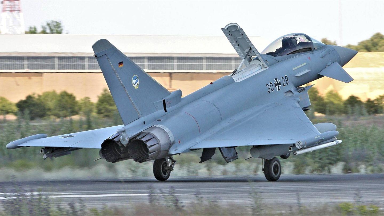 Eurofighter alemán. (Juanjo Fernández)