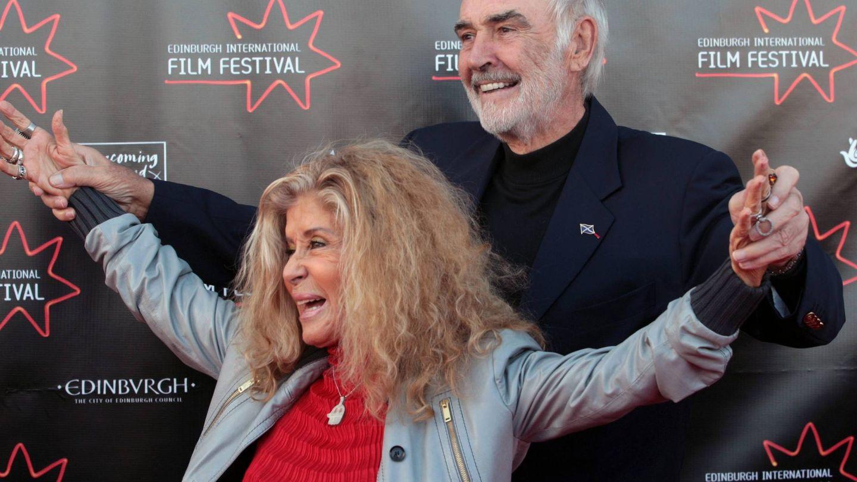 Sean Connery y Micheline Roquebrune en una imagen de archivo. (EFE)