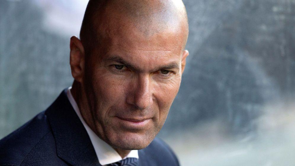 Foto: Zinédine Zidane durante un partido del Real Madrid. (Efe)