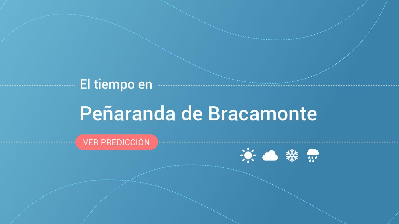 Foto: El tiempo en Peñaranda de Bracamonte. (EC)