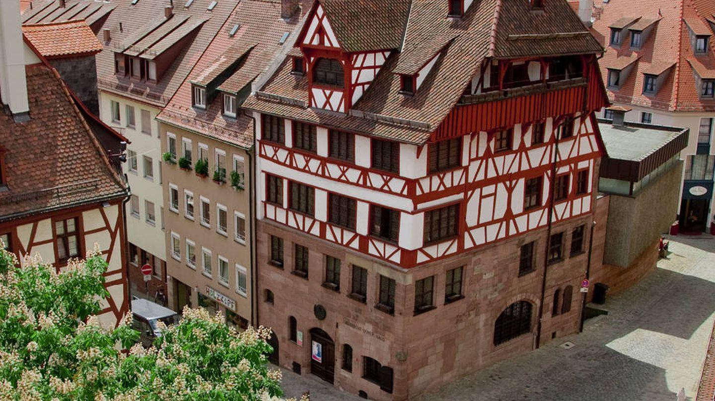 La casa natal de Albert Durero en primer plano. (Foto: ©Birgit Fuder)