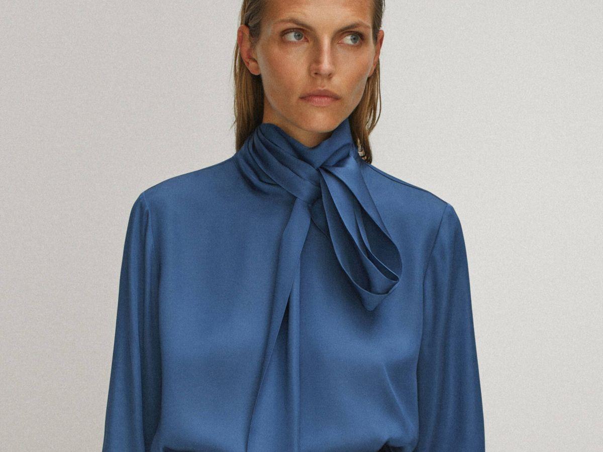 Foto: La blusa de Massimo Dutti. (Cortesía)