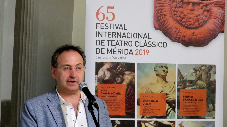 Jesús Cimarro, empresario teatral y director del Festival de Teatro de Mérida. (EFE)
