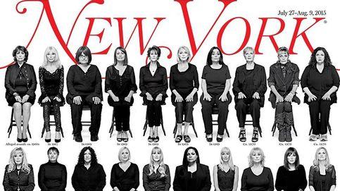 Sientan en portada a 35 mujeres que acusan a Bill Cosby de acoso