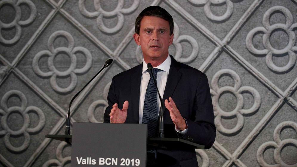 Foto: Manuel Valls, en la presentación de su candidatura. (Reuters)