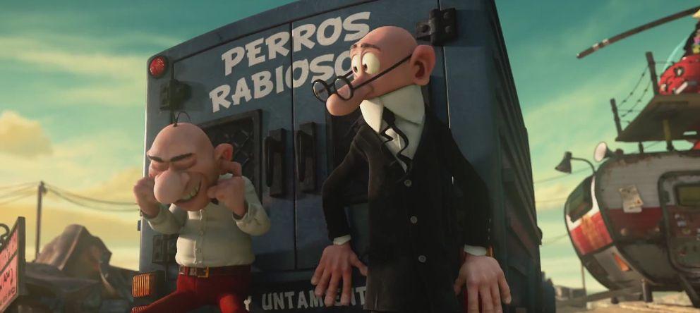 Foto: Fotograma de 'Mortadelo y Filemón contra Jimmy el Cachondo'