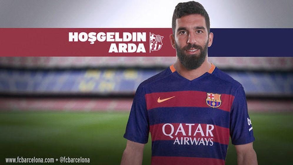 Foto: La Comisión Gestora del Barça hace oficial el fichaje de Arda para alegría de Bartomeu