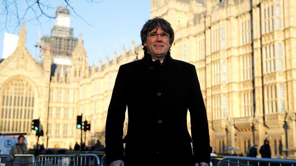 Foto: Carles Puigdemont en Londres. (Reuters)