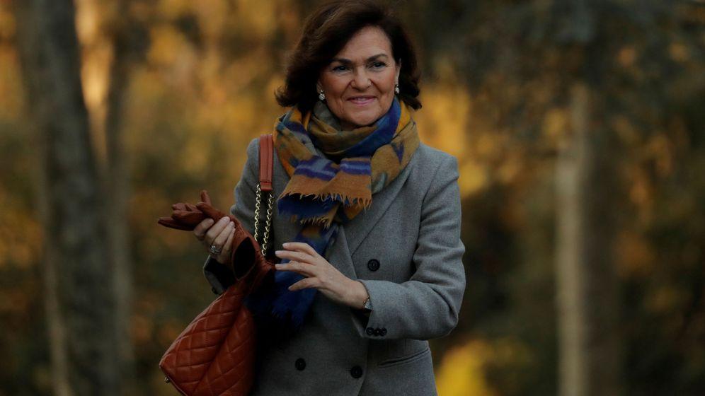 Foto: Carmen Calvo, vicepresidenta primera del Gobierno. (EFE)