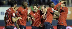 Osasuna gana el pulso europeo al Espanyol gracias a una brillante actuación de Raúl García