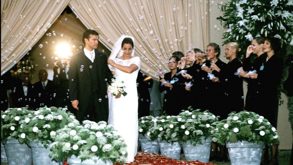 Foto: Arantxa Sánchez Vicario y Joan Vehils el día de su boda. (Gtres)