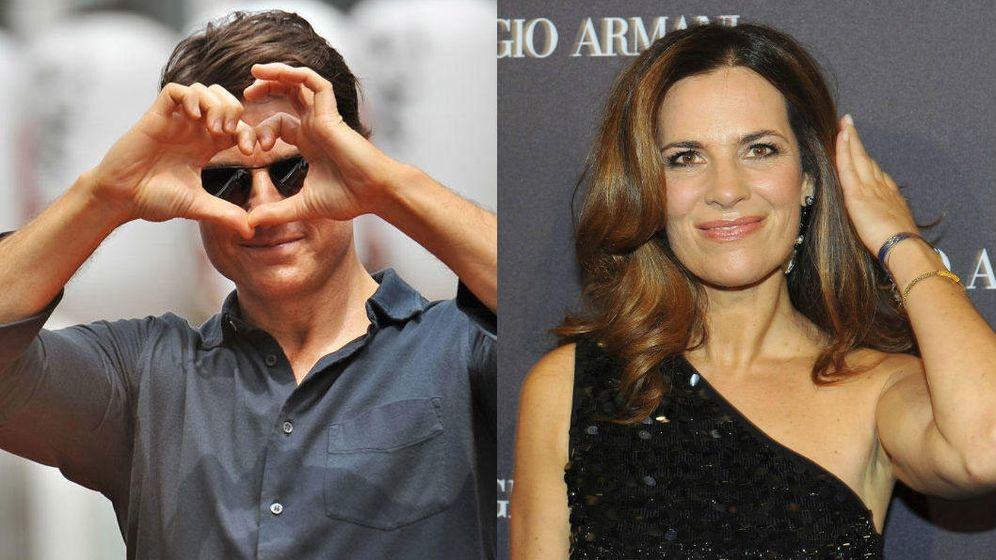 Foto: Tom Cruise y Roberta Armani