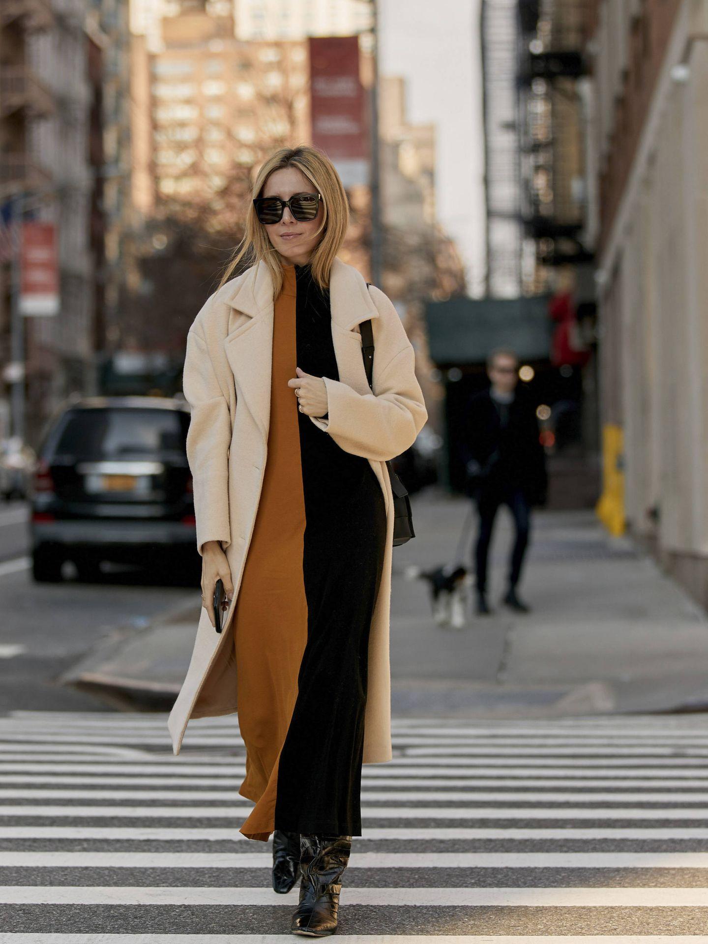 Una prescriptora paseando por Nueva York. (Imaxtree)