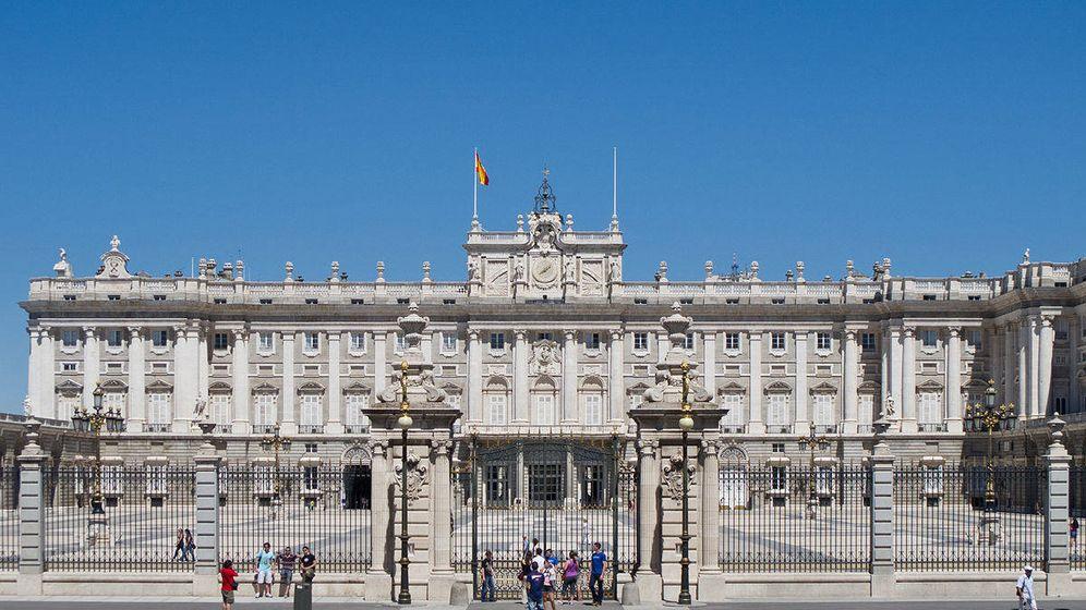 Foto: Frontal del Palacio de Oriente. (Patrimonio Nacional)