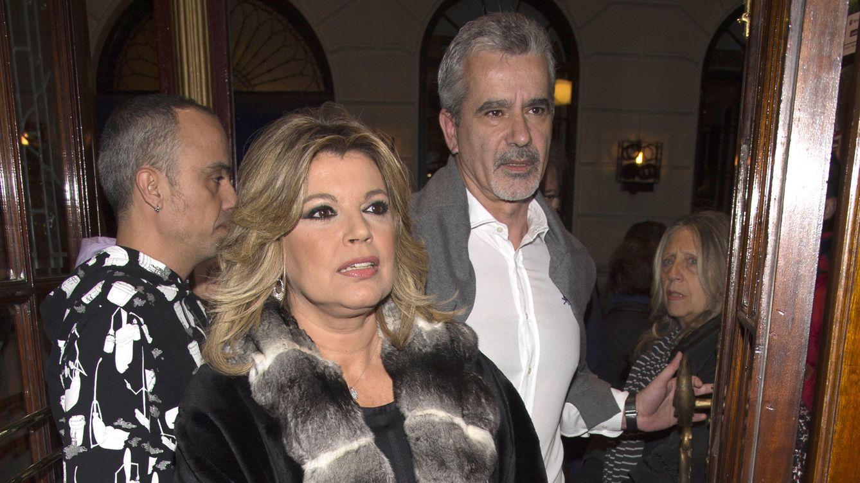Terelu, cena íntima con su novio y su ex