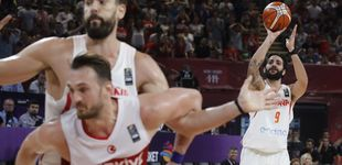 Post de Ricky Rubio castiga el desprecio de los rivales en el EuroBasket