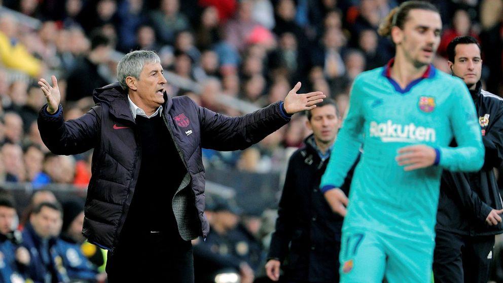 El autoengaño del Barcelona: ni Valverde era el problema ni Setién es la solución