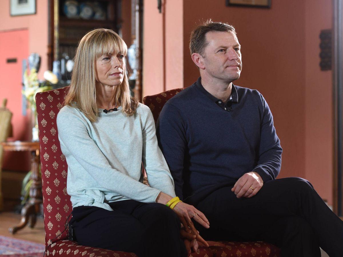 Foto: Kate y Gerry McCann, en una entrevista para la BBC. (Getty)