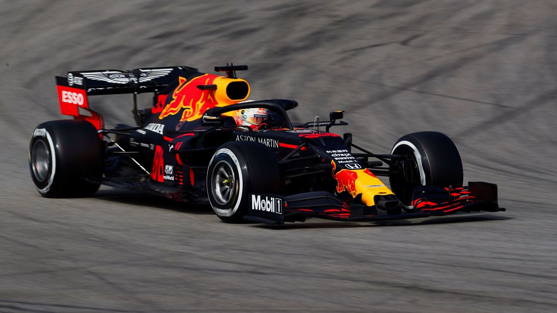 Max Verstappen durante los test de pretemporada en Montmeló. (EFE)