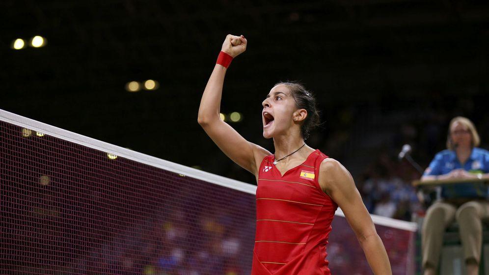 Foto: La deportista española Carolina Marín. (Reuters)