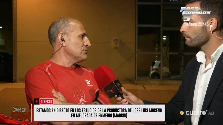 Joaquín, exchófer de José Luis Moreno, en 'Todo es verdad'. (Mediaset)