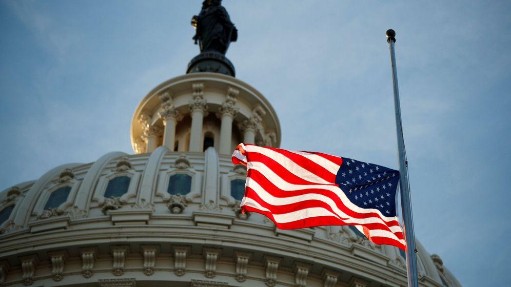 Foto: Bandera americana en Washington (Reuters)