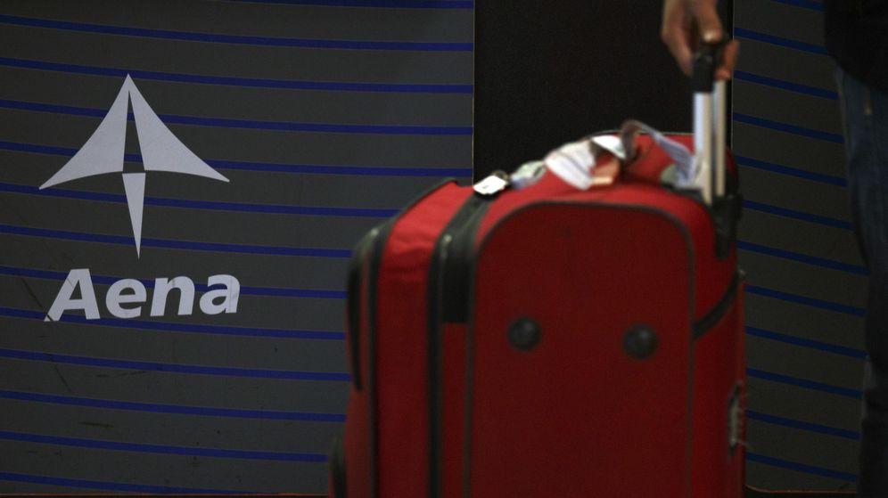 Foto: Imagen de archivo del logo de Aena. (Reuters)