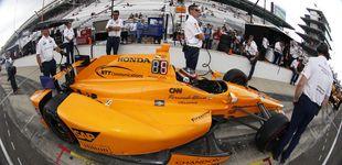 Post de El 'novato' Alonso se luce y luchará por la 'pole' en las 500 Millas de Indianápolis