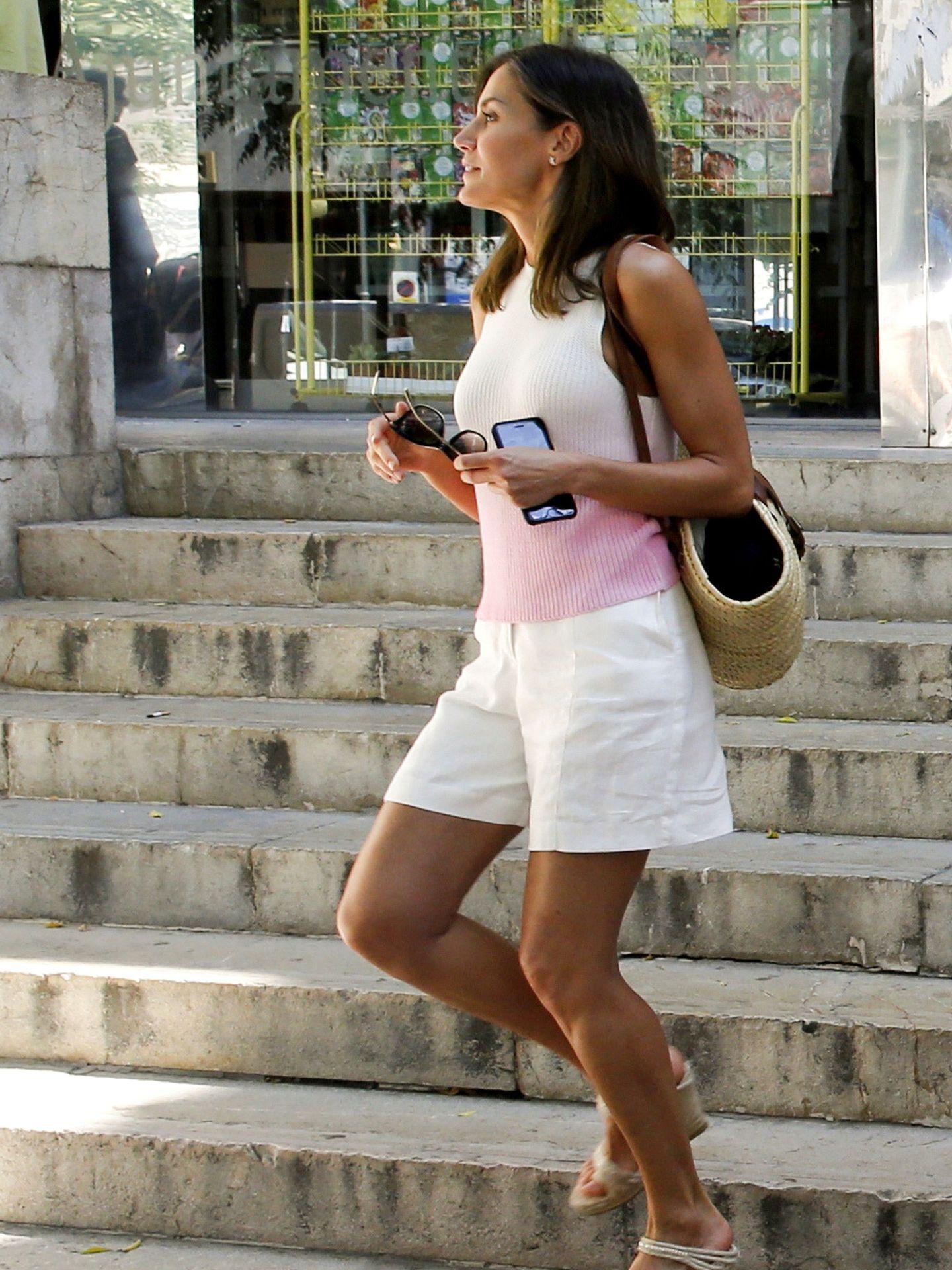 La reina Letizia, en Palma de Mallorca. (EFE)